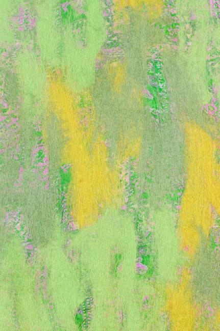 vilt op zijde groen