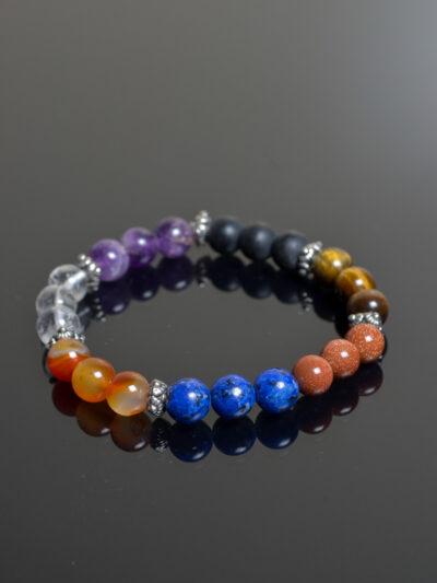 natuurstenen armband chakra