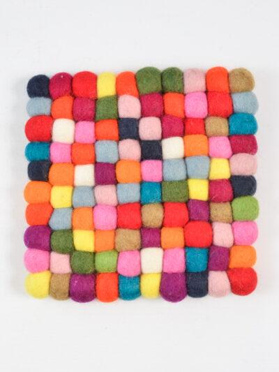 vierkant multicolor