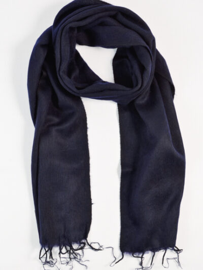 kleine sjaal dark navy