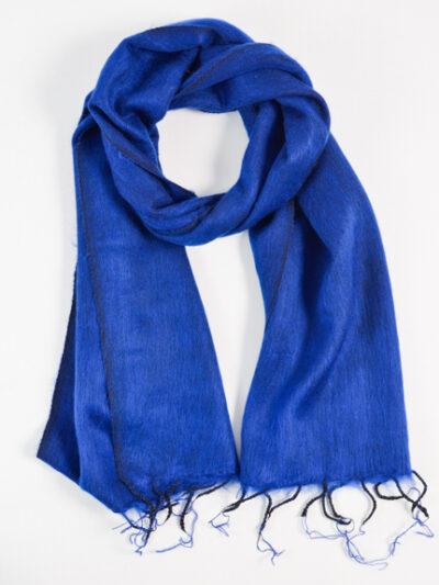 kleine sjaal cobalt blue