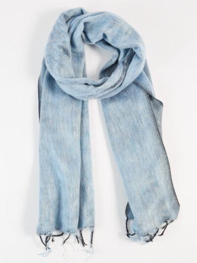 kleine sjaal denim