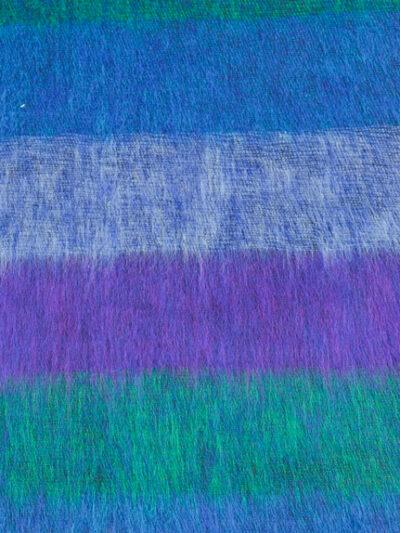 kleine sjaal blue purple