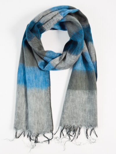 kleine sjaal blue gray