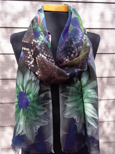 Bamboe sjaal Kat